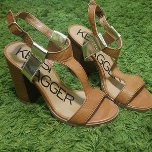 Kelsi Dagger block heeled sandals
